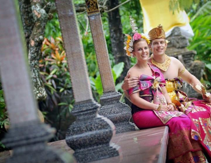 Балийская свадебная церемония. Гиджи и Мерло.