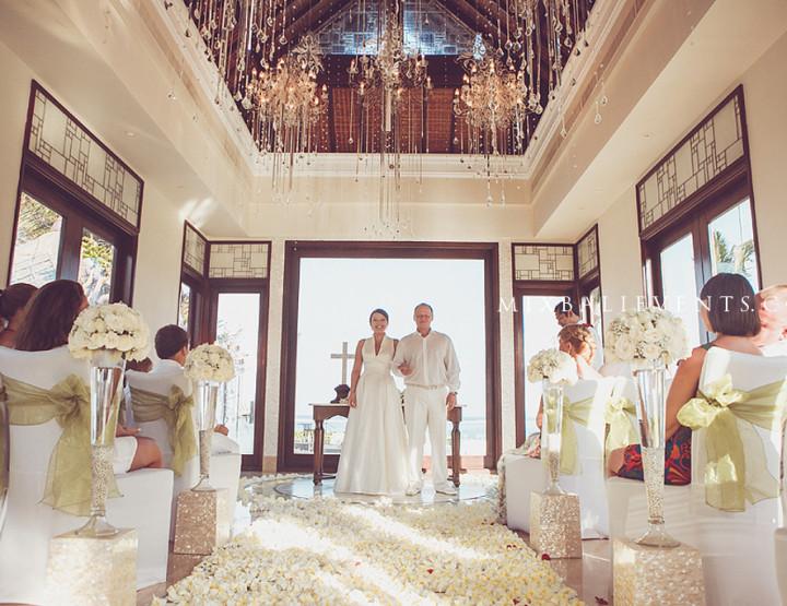 Свадьба в часовне «Lovely Lilies»