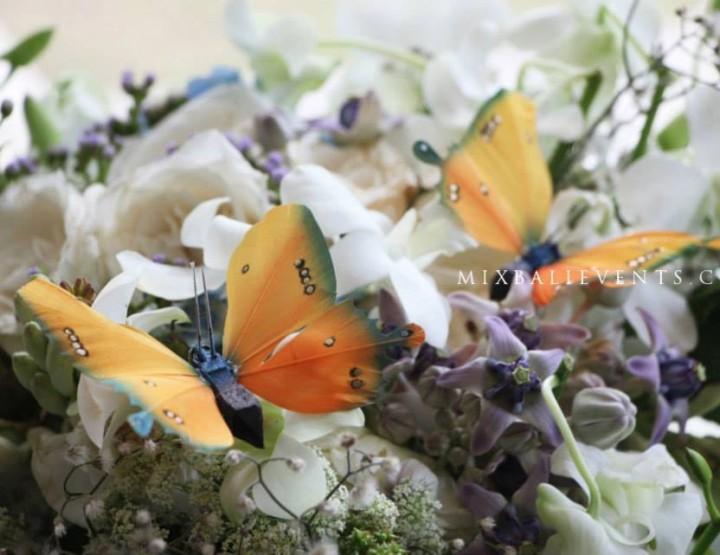 Свадебный декор с бабочками