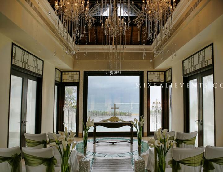 Свадьба в роскошной Часовне на берегу океана