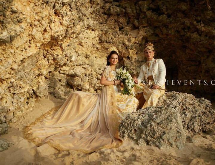 Балийская свадьба у океана Джовиты и Миндаускаса