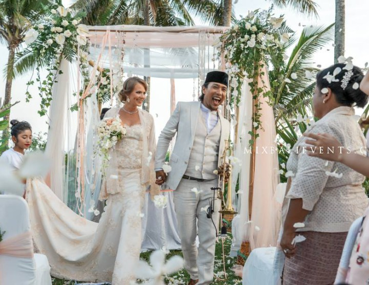Свадьба на вилле у океана