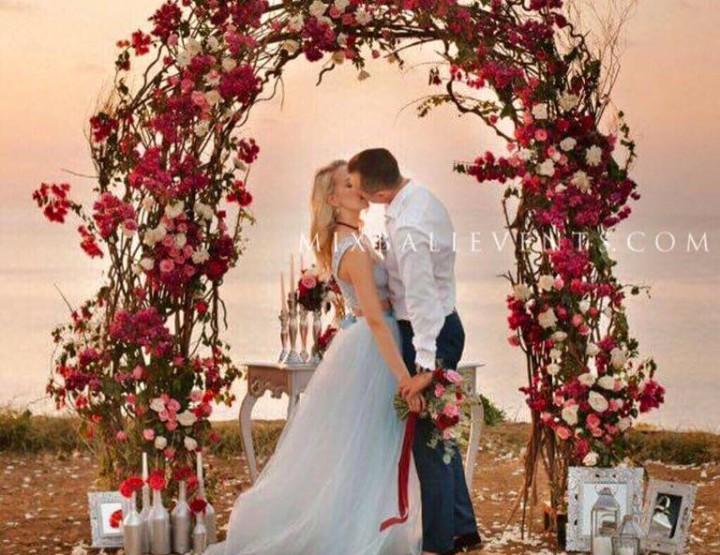 Марсала Свадьба на утесе над океаном. Петр и Яна