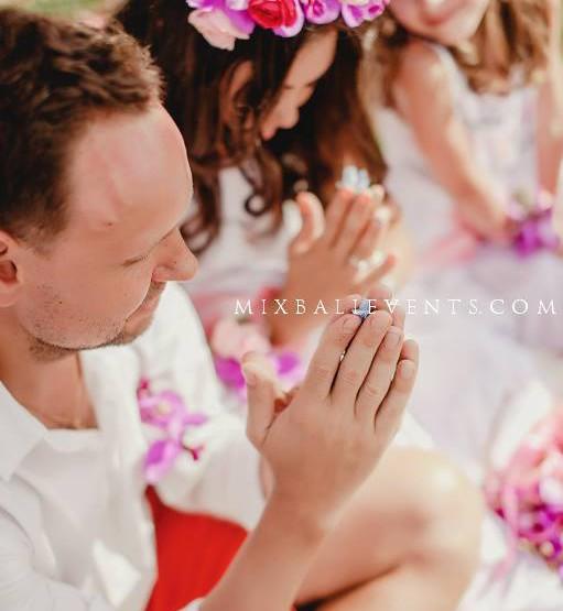Балийская свадебная церемония
