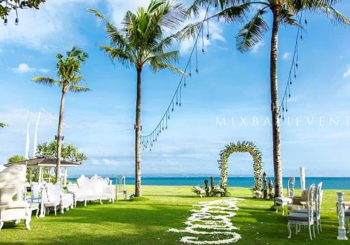 Полинезийская свадьба на Арт-вилле. Свадьба с гостями
