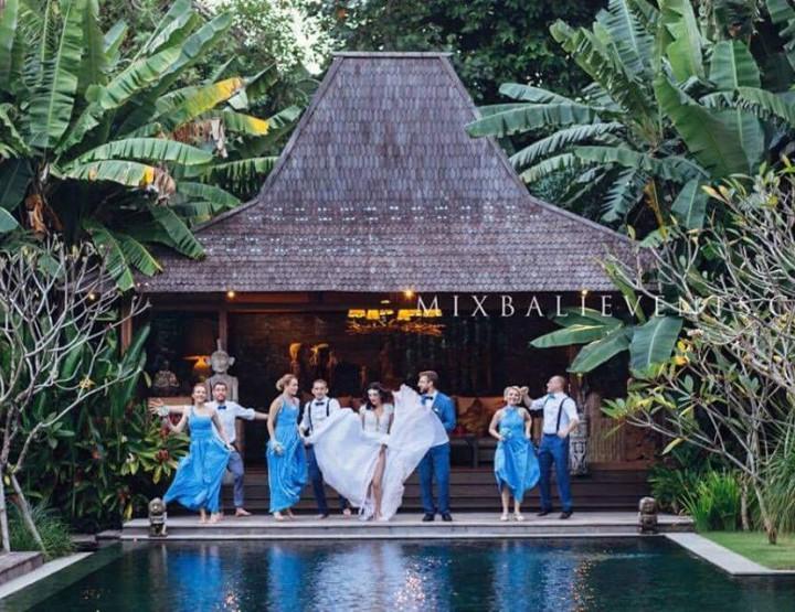 Свадьба с гостями на Арт-вилле Serenity