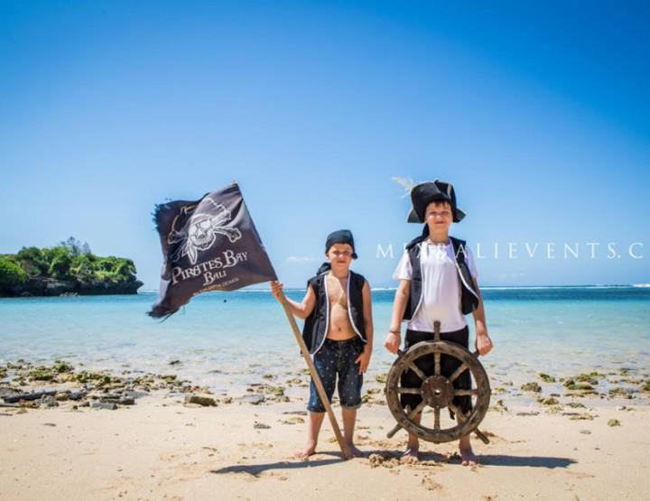 Пиратский День рождения на Бали