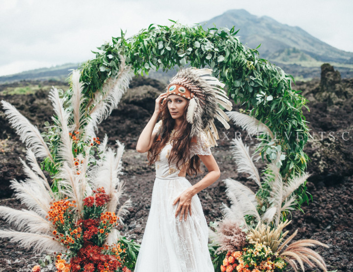 MOODY & BOHO Pampas Grass WEDDING