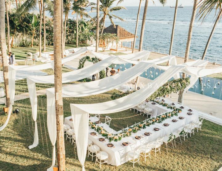 Декорация свадебного стола