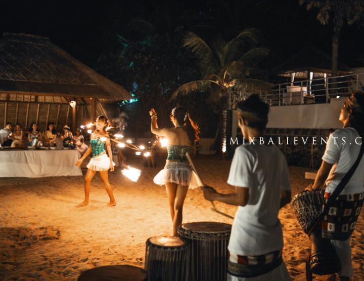 Свадьба на Бали. Fire-шоу