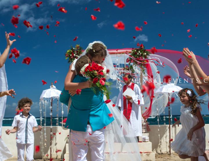 Свадьба на роскошной вилле у океана