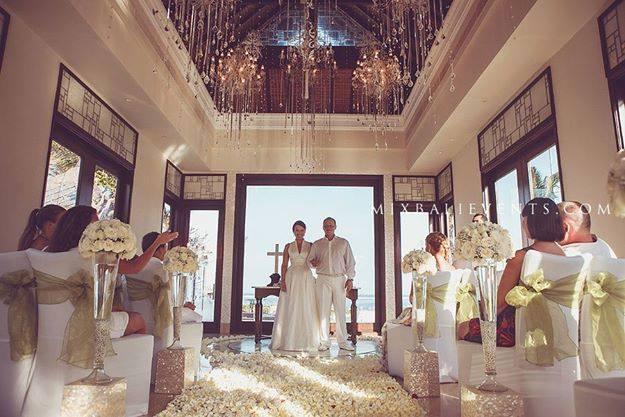 Свадьба в часовне у океана