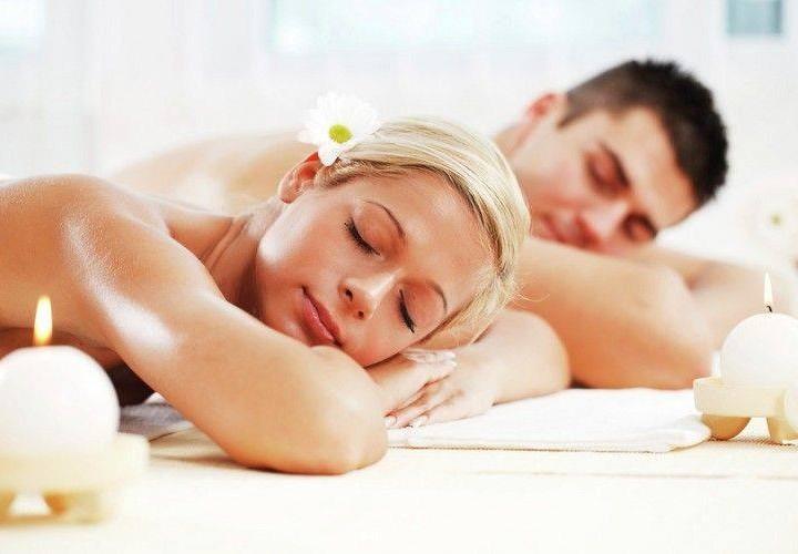 Новобрачные спа-сессии для двоих