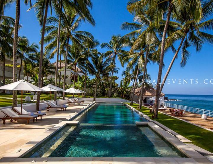 Размещение молодоженов и гостей на Бали