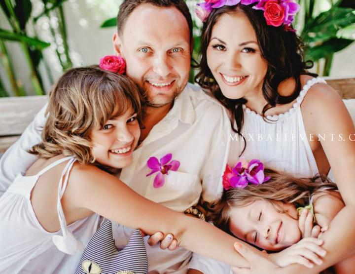 Семейная фотосессия на Бали