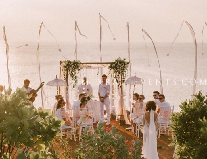 Свадьба в стиле Boho на Утесе над океаном