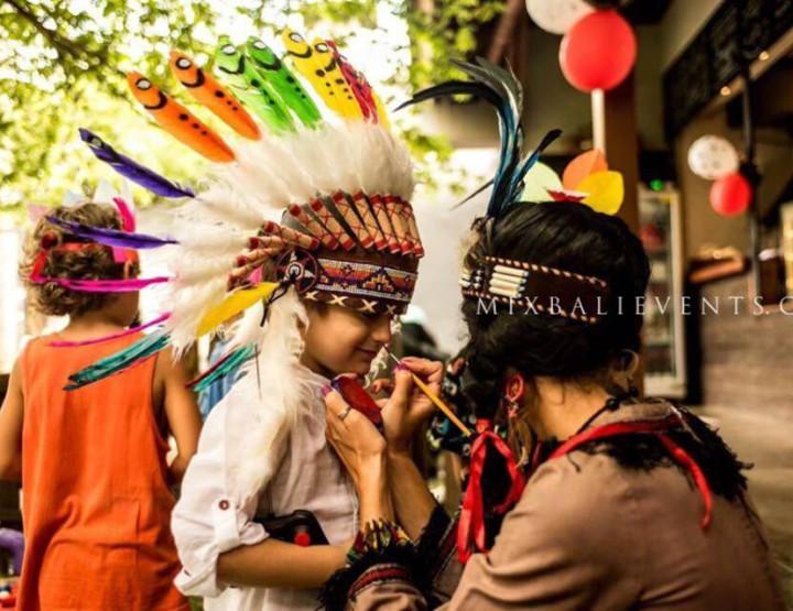 Индейский День рождения на Бали