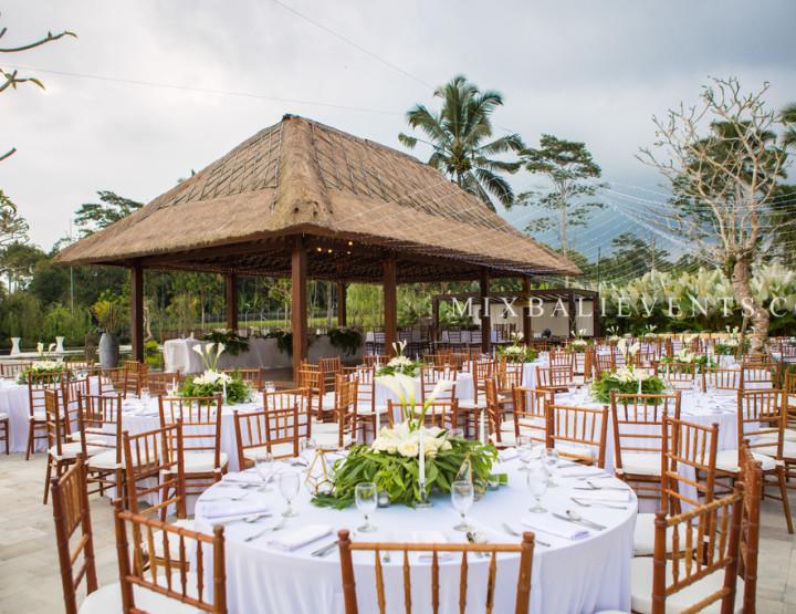 Свадьба на 150 человек. Стильная Тропическая Свадьба. Глеб и Мила