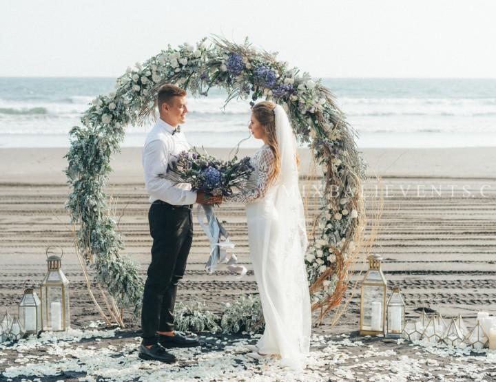 Ultraviolet & Grey Wedding