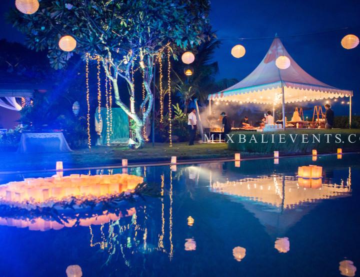 День рождения на вилле у океана - в MIX Bali Events.