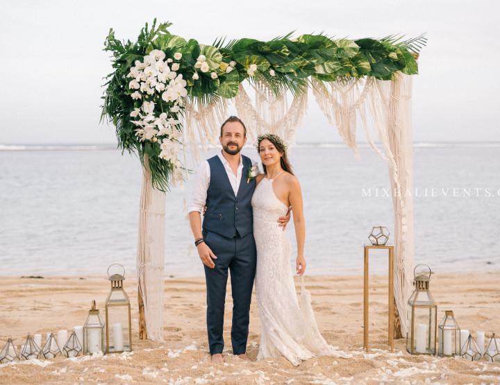 Тренд 2019! Стильная Свадьба в стиле Boho на пляже с белым песком