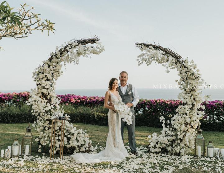TОП 2019! Cotton & Coconut Shell Wedding с гостями на роскошной вилле у океана