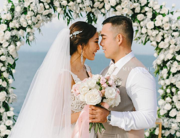 Стильная Свадьба на Утесе. Айжана & Джанибек